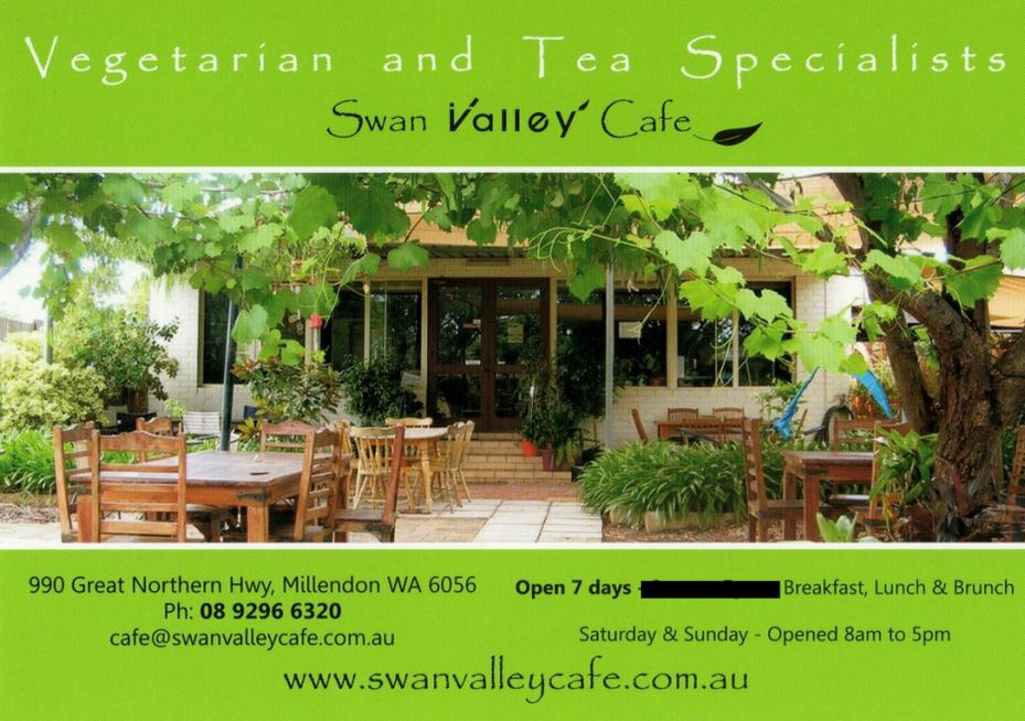 Dog Friendly Cafe Swan Valley